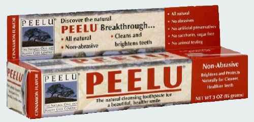 Натуральная зубная паста Peelu Toothpaste Cinnamon (Пилу корица)