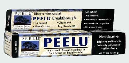 Зубная паста без вкуса Peelu Mint Free Toothpaste (Пилу)
