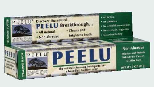 Зубная паста с мятой Peelu Spearmint Toothpaste (Пилу мята)