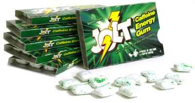 Американская жвачка Jolt chewing gum