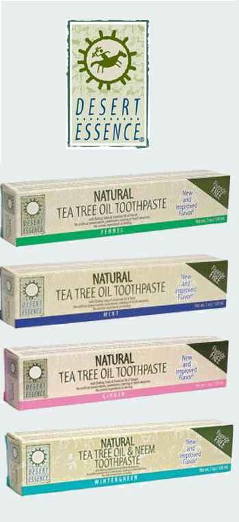 Натуральная зубная паста Desert Essence Tea Tree Oil Toothpaste (Сущность пустыни с маслом чайного дерева) Австралия
