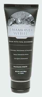Diamond White Whitening Toothpaste Made with Real Diamonds