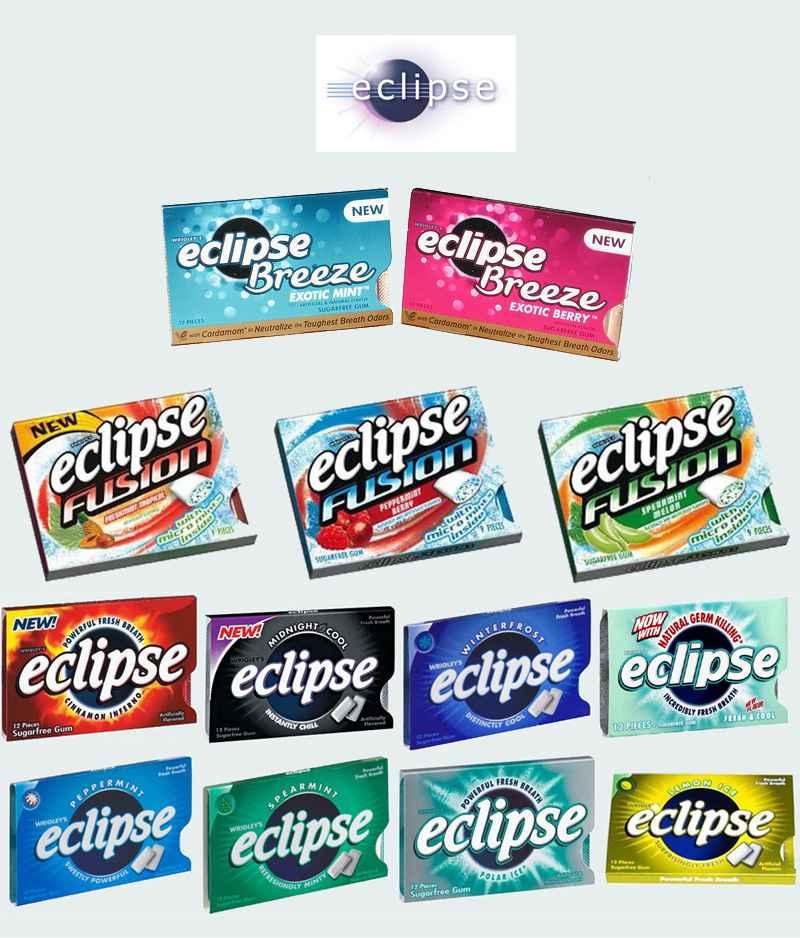 Жвачка Eclipse Wrigleys (Жвачка эклипс ригли)