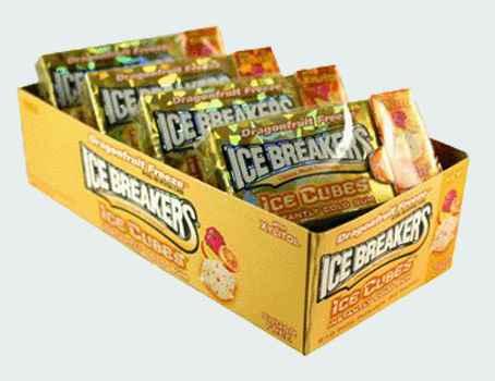 Новая Ice Breakers Dragonfruit Freeze Ice Cubes (Айс брекерс ледяной куб с ледяным вкусом драконьего фрукта)