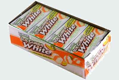 Ice Breakers Ice Cube White  Mango Kiwi