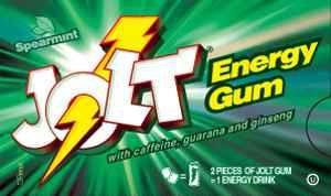стоимость Jolt Spearmint  (Джолт энергетическая жвачка мята)