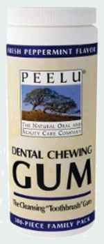 Peelu Dental Chewing Gum Peppermint (Пилу перечная мята)