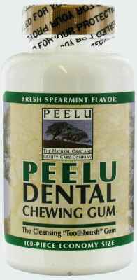 Peelu Dental Chewing Gum Spearmint (Пилу мята)