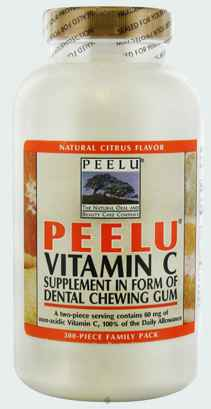 Новая Peelu Vitamin C Gum (Пилу витамин С)