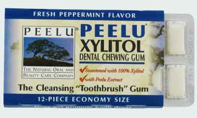 Продам жевательную резинку Peelu Peppermint Xylitol Gum (поставщики Пилу перечная мята с ксилитолом)
