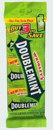 Жевательная резинка wrigley's doublemint (Ригли даблминт)