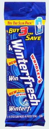 Жвачка Wrigley's Winterfresh (Ригли винтерфреш)