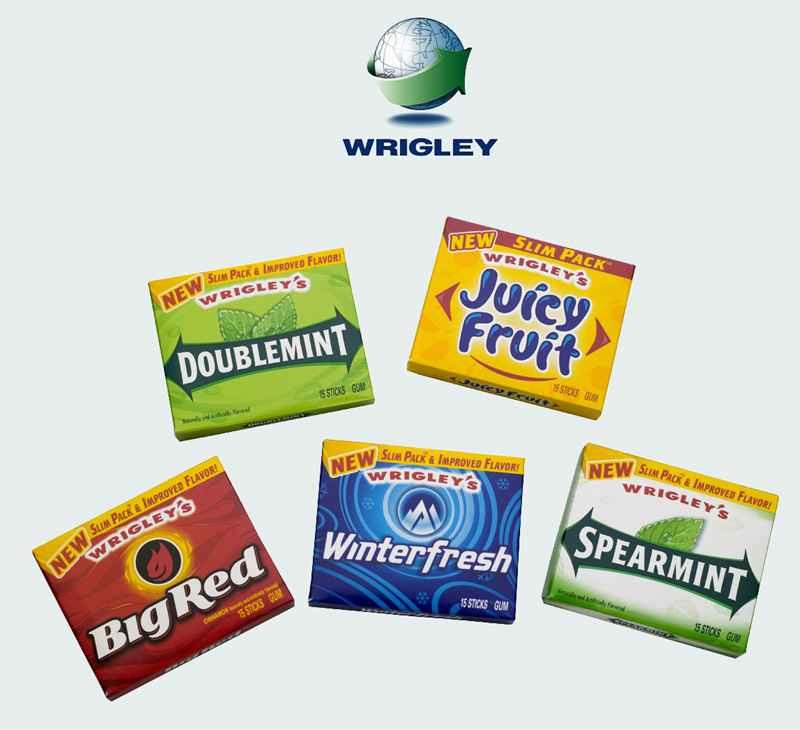 Жевательная резинка Wrigley's (Ригли)