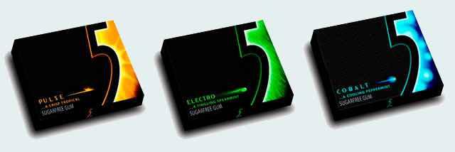 Жвачка Wrigley's 5 Electro (Жвачка ригли файв электро)
