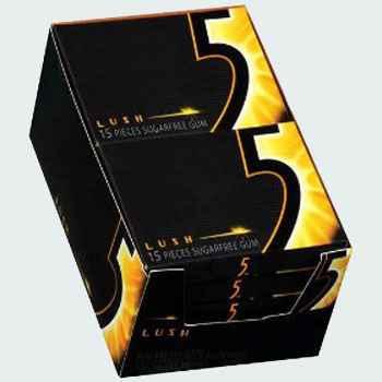 Жевательная резинка Wrigley's 5 Lush (Жевательная резинка ригли файв луш)