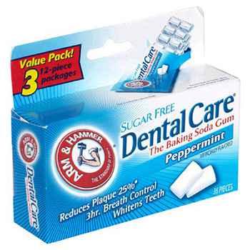 Самая большая жвачка Arm & Hammer Dental Care Baking Soda Peppermint (Арм Хаммер стоматологическая забота пищевая сода перечная мята)