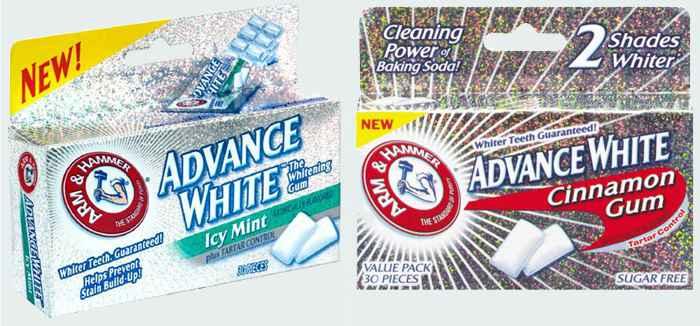 Новая жвачка Arm&Hammer Dental Gum (Арм Хаммер стоматологическая)