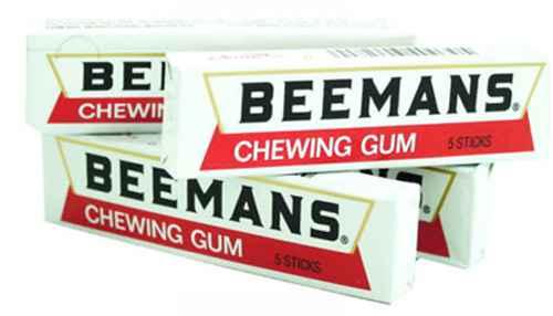 Новая США Beemans Chewing Gum (Бименс)