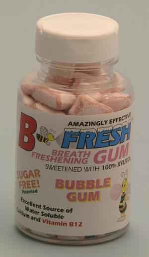 Состав B-Fresh Gum Bubble Gum (Би-Фреш бабл гам)