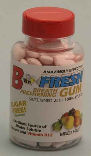 Жвачка B-Fresh Fruit Gum (Би-Фреш фруктовая)