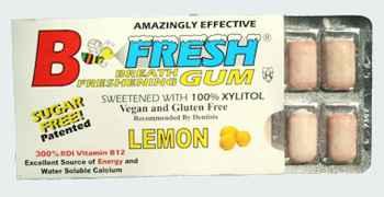 B-Fresh Gum Lemon (Би-Фреш лимон)