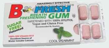 B-Fresh Gum Cool Spearmint (Би-Фреш прохладная мята)