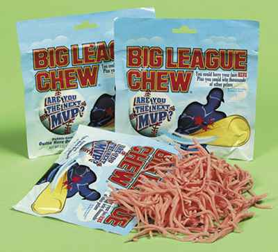 Новая жвачка Big League Chew (Биг Лиг)