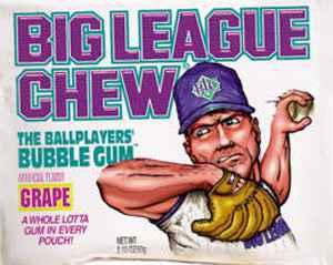 Жвачка wrigley Big League Chew Grape (Биг Лиг виноград)