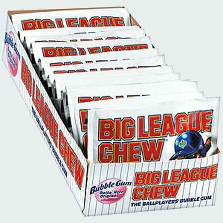 Жвачка wrigley Big League Chew Original Bubble Gum (Биг Лиг оригинал бабл гам)