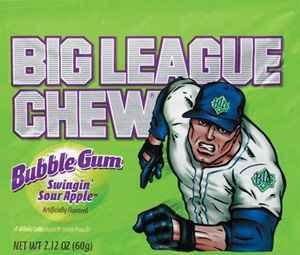 wrigley Big League Chew Sour Apple (Биг Лиг кислое яблоко)