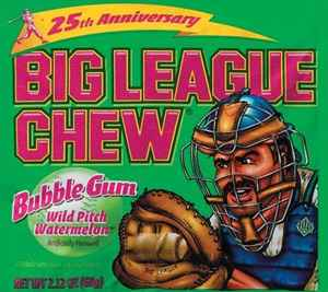 wrigley Big League Chew Gum Watermelon (Биг Лиг арбуз)