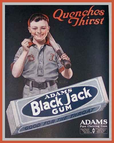 Black Jack Chewing Gum (Блэк Джек)