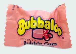 Россия  Bubbaloo Gum Bubble Gum (Буббалу бабл гам)