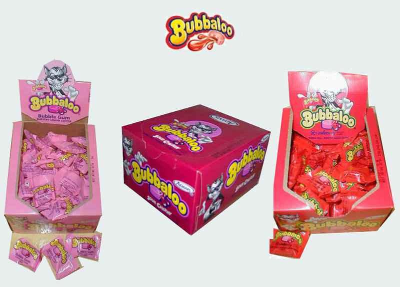 Новая американская жвачка Bubbaloo Bubble Gum (Буббалу бабл гам)