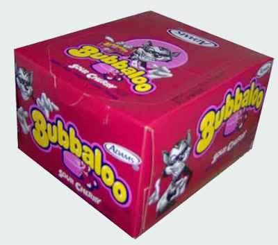 Bubbaloo Gum Sour Cherry