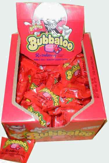Рынок Bubbaloo Gum Strawberry (Буббалу клубника)