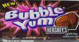 Жевательная резинка купить  Bubble Yum HERSHEY'S Chocolate (Баббл Юм шоколад Херши)