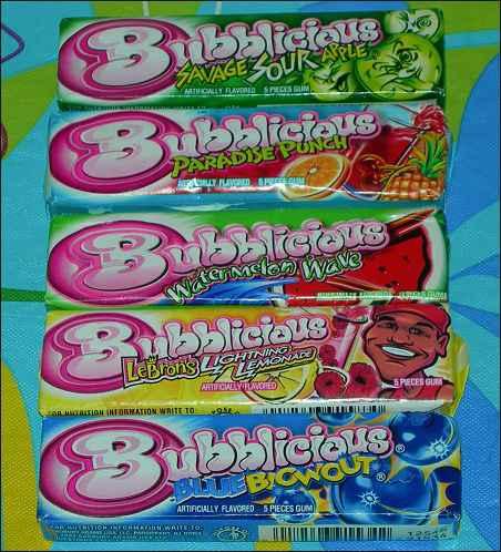 Новая Bubblicious (Бубблисиоус)
