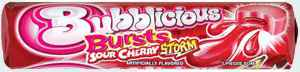 Рынок Bubblicious Bursts Sour Cherry (Бубблисиоус Взрыв кислая вишня)
