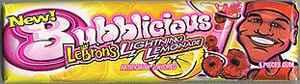 Куплю жевательную резинку Bubblicious Original Lightning Lemonade (Бубблисиоус Оригинал лимонад)