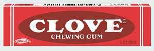 Жвачка из Америки Clove Chewing Gum (Гвоздика)