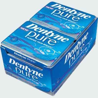 Стоимость жвачки Dentyne Pure Gum Mint Herbal Accents (Дентин чистое дыхание мята и экстракты трав)