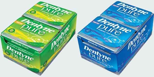 на жевательную резинку Dentyne Pure Gum (жвачка Дентин чистое дыхание)