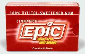Epic Cinnamon Gum with Xylitol (Эпик корица)