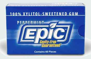 Epic Peppermint Gum with Xylitol