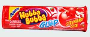 Hubba Bubba Glop Strawberry Gush (Хубба Бубба Глоп клубника)