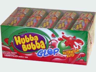 Жвачка wrigley Hubba Bubba Glop Watermelon Rapid