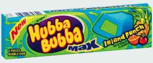 Американская жвачка Hubba Bubba Max gum Island Punch