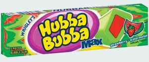 Жвачка wrigley Hubba Bubba Max gum Strawberry Watermelon