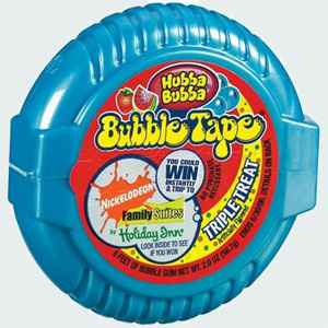 Американская жвачка wrigley Hubba Bubba Bubble Tape Triple Treat